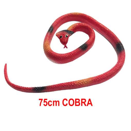 75cm rubber snake