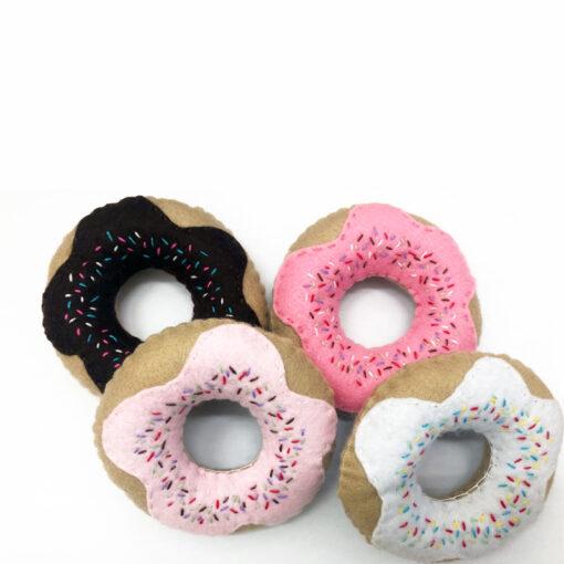 felt food doughnuts