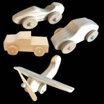 wooden cars planes
