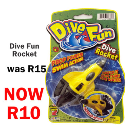 dive fun dive rocket