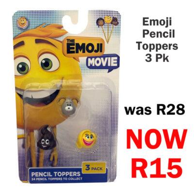 emoji pencil toppers