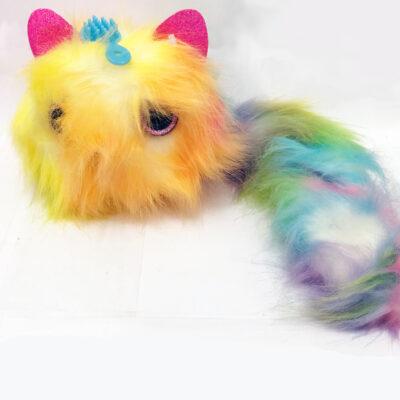 fluffy plush cat