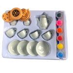 ceramic paint tea set