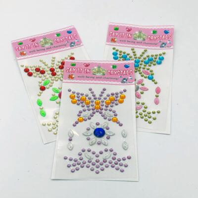 crystal stickers