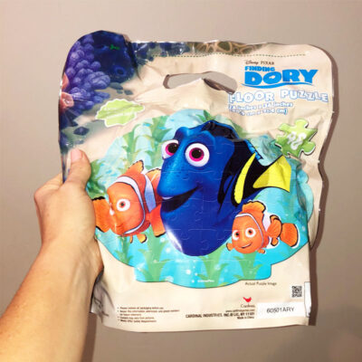 Finding Dory Floor Puzzle in Bag