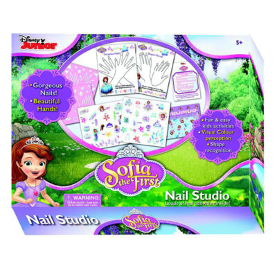 Sofia the First My Nail Studio