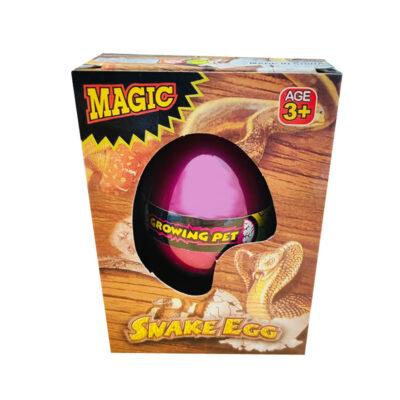 growing snake egg