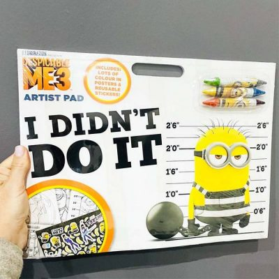 despicable me 3 artist pad