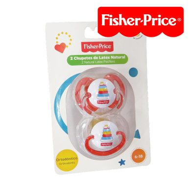 FISHER PRICE 2PC PACIFIER