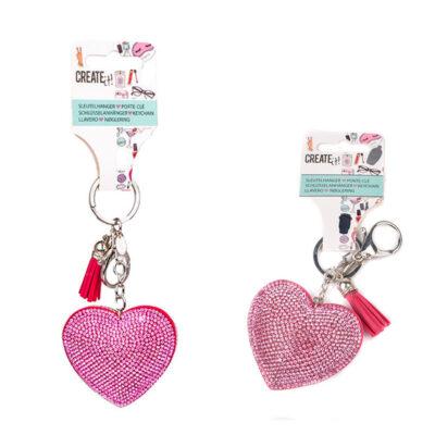Create It Hanger Heart Keychain