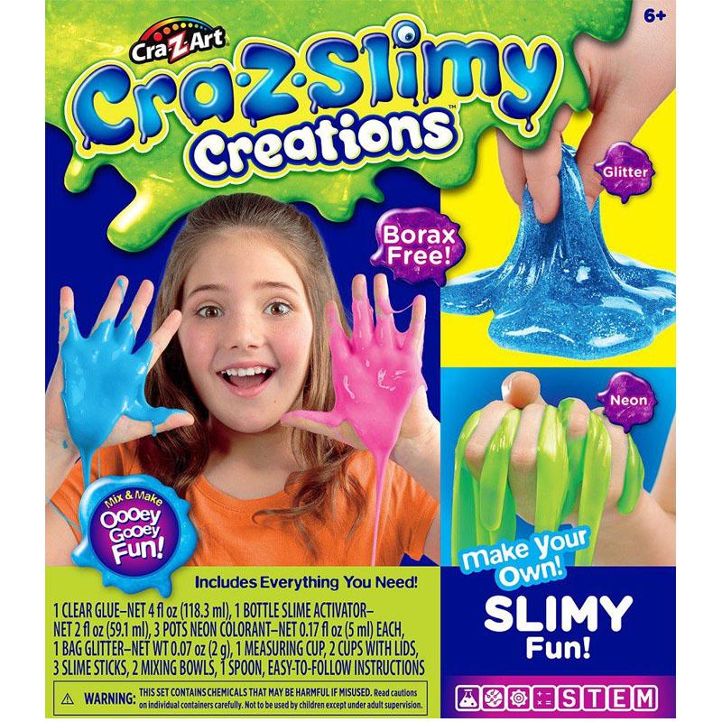 Crazslimy Glitter Slimy Fun