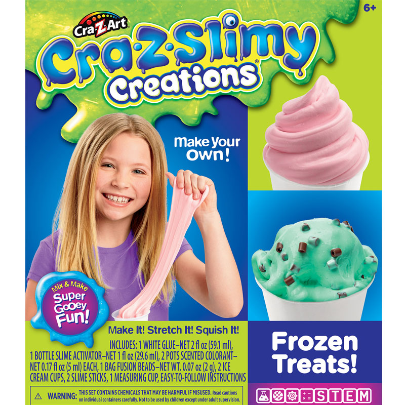 Crazslimy Frozen Treats