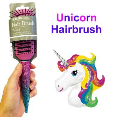 Unicorn Hairbrush
