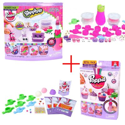 Poppit Shopkins Activity Pack and Refill pack