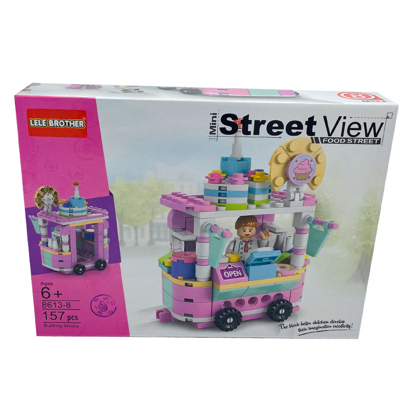 girls building blocks