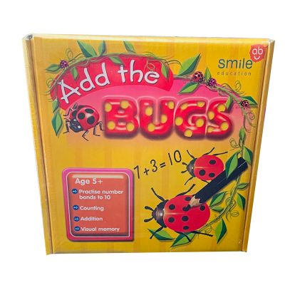 Add the bugs educational game