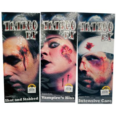 face tattoo wounds