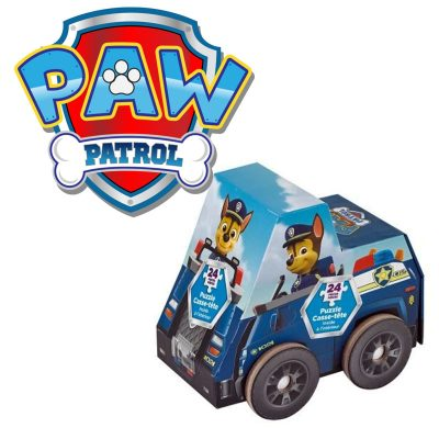 Paw Patrol Puzzle in Vehicle