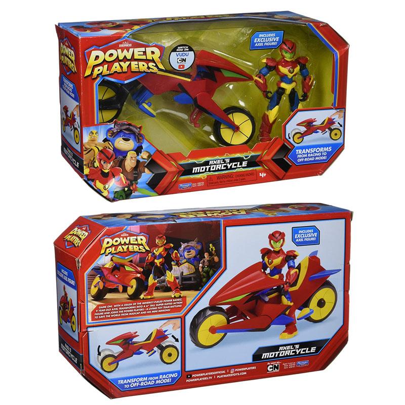 Power Player Vehicle and Figurine